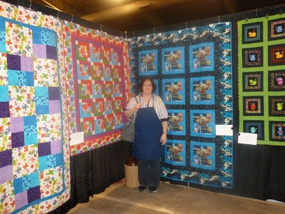 Robin Johnson from Robin's Modern Quilting and Design, Brookings, SD.